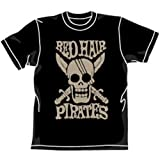 [ おもちゃ&ホビー ] ONEPIECE 赤髪海賊団Tシャツ ブラック サイズ:M 価格: : 3132円 発売日: : 2008-06-28 発売元: : コスパ