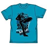 [ おもちゃ&ホビー ] ワンピース 黒足のサンジTシャツ ターコイズブルー サイズ:M 価格: : 3132円 発売日: : 2009-08-10 発売元: : コスパ