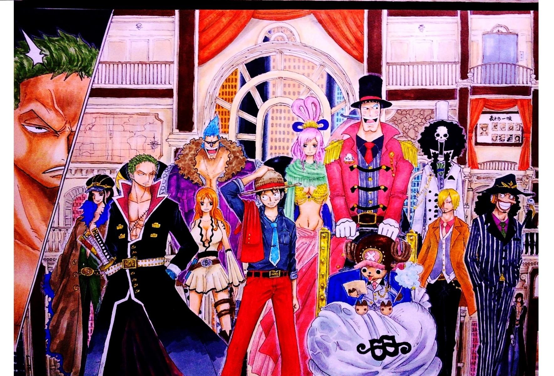 集合・・・そしてトラブルへ ONEP.jp :: 集合・・・そしてトラブルへ :: ワンピース画