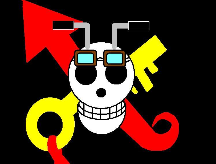 オーバーアクセル海賊団  海賊旗