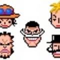 白ひげ海賊団(ドット画)