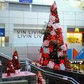 季節外れのクリスマスツリー