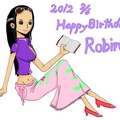 ロビン、おめでとう!!