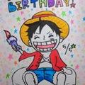 ルフィ誕生日☆おめでとう!