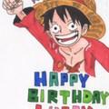 Happy Birth Day Luffy