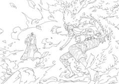 青雉とドフラミンゴ