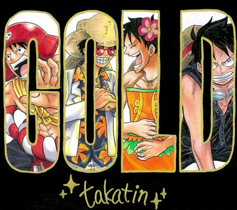 ONE PIECE FILM GOLD DVD&Blu-ray発売記念